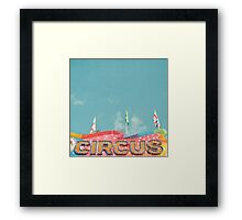Circus Lights Framed Print