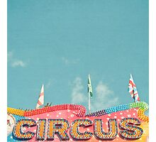 Circus Lights Photographic Print