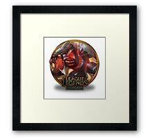 Cho Gath Mecha - League of Legends Framed Print