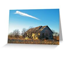 Prairie Memories Greeting Card