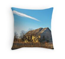Prairie Memories Throw Pillow