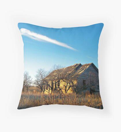 Prairie Memories Throw Pillow