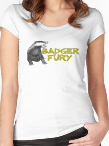 Badger Fury Women's Fitted Scoop T-Shirt