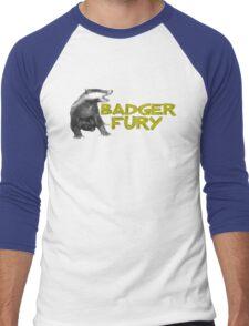 Badger Fury Men's Baseball ¾ T-Shirt