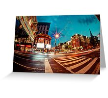 Washington Chinatown Greeting Card