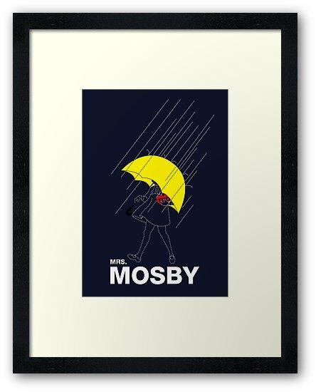 Mrs. Mosby by huckblade