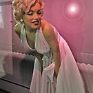 Marilyn, So Pretty in Pink, Madame Tussauds NYC by Jane Neill-Hancock