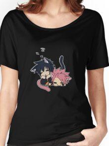 Natsu and Gray (chibi) Women's Relaxed Fit T-Shirt
