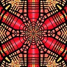 STAINED GLASS iPad by Kevin McLeod