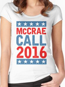 McCrea / Call 2016 Presidential Campaign - Lonesome Dove  Women's Fitted Scoop T-Shirt