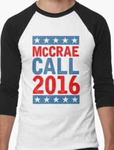 McCrea / Call 2016 Presidential Campaign - Lonesome Dove  Men's Baseball ¾ T-Shirt
