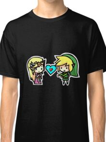 Link and Zelda Classic T-Shirt