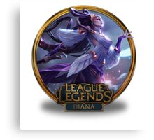 Diana Lunar Goddess - League of Legends Canvas Print