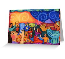 Musical Unity Greeting Card