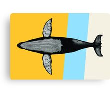 Gone Whale  Canvas Print