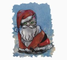 Santa Cat Kids Clothes