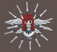 Erza Scarlett (chibi) One Piece - Short Sleeve