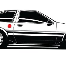 Driver Apparel - AE86 by arialite