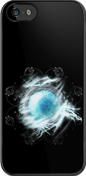 Final Fantasy - Shiva Materia iPhone Case by Reverendryu