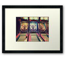 Skee Ball Framed Print