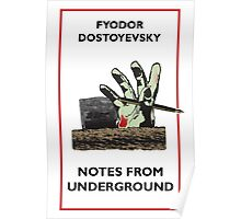 Notes From Underground Zombie Poster