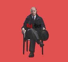 Raymond 'Red' Reddington - Red Alert Print by riotshieldtom