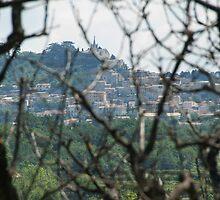 Towards Bonnieux, Provence, France by Marie Watt