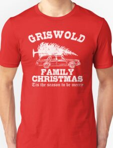 Griswold Family Christmas Xmas Holiday T-Shirt