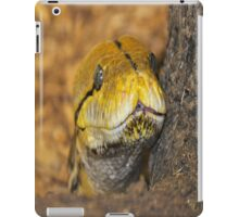 Yellow Snake iPad Case/Skin
