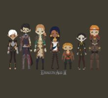 Dragon Age II Party by Shadyfolk
