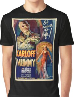 Mummy - Boris Karloff Graphic T-Shirt