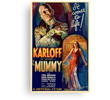 Mummy - Boris Karloff Canvas Print
