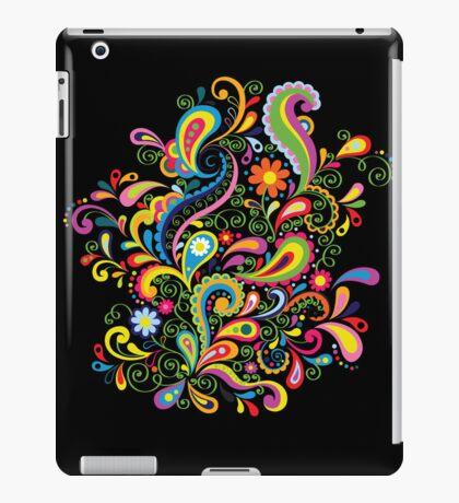 FlowerPower - Black iPad Case/Skin