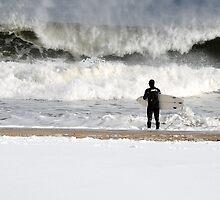 Winter Surfer by joAnn lense