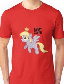 Everyday I'm Muffin Derpy Hooves  Unisex T-Shirt
