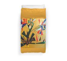 Oakland Wall Flower Design By Octavious Sage  Duvet Cover