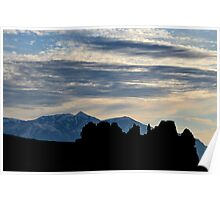Henry Mountains - Goblin Silhouettes Poster
