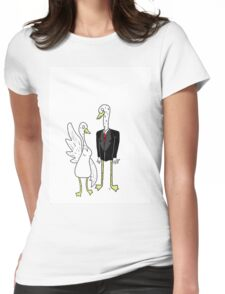 The Goose People Womens Fitted T-Shirt