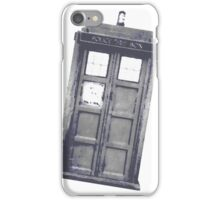 Police box style 2 iPhone Case/Skin