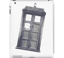 Police box style 2 iPad Case/Skin