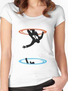 Draper Falls Women's Fitted Scoop T-Shirt