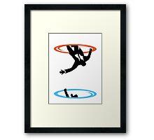 Draper Falls Framed Print