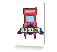Old School Greeting Card