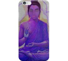THE MIDEASTERN INDIAN WOMAN IN MEDITATION iPhone Case/Skin