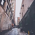 The Alley by Nicolas Goulet