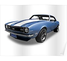 Chevrolet - 1968 SS Camero Poster