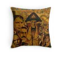 The Golden Dawn Throw Pillow