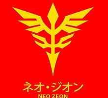 Neo Zeon Logo in Unicorn Gundam by kyzson69