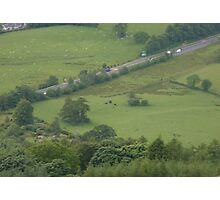 A drive through the countryside Photographic Print