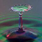Red, green & blue. by Malcolm Garth